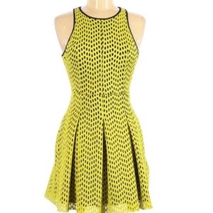 Yellow and Black Topshop Dress